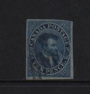 Canada #7iv Used With Nice Light Cancel