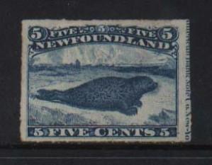 Newfoundland #40 VF Mint With Full Imprint