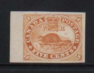 Canada #15TCviii Superb Plate Proof In Orange
