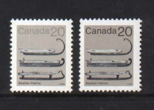 Canada #922a XF/NH Without Brown Printing **With Cert.**