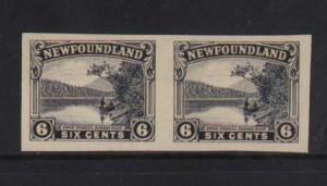 Newfoundland #136a XF Mint Imperf Pair