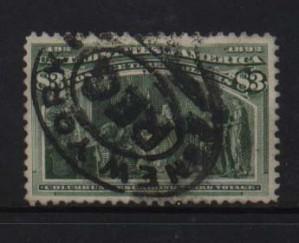 USA #243 VF Used
