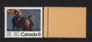 Canada #619i XF/NH Yellow Back Variety