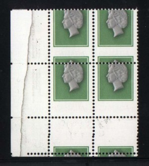 Canada #789d Mint XF/NH LL Rare Error Block *With Cert.*
