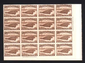 Newfoundland #25Piii XF Superb Showpiece Proof Block Of 16
