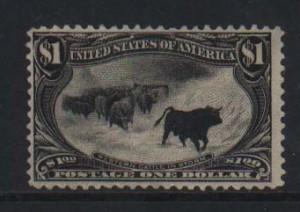 USA #292 Mint