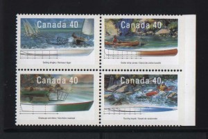 Canada #1320ai XF Mint Imperf At Right Margin Block