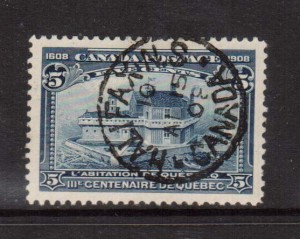 Canada #99 XF Used With Spectacular April 15 1908 CDS Cancel
