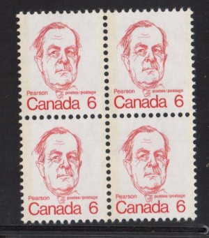Canada #591a XF/NH Variety Block  **With Certificate**