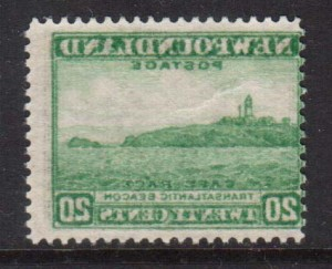 Newfoundland #263i VF/NH With Reverse Offset Variety  **With Cert.**