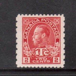 Canada #MR5 XF/NH Jumbo Gem **With Certificate**