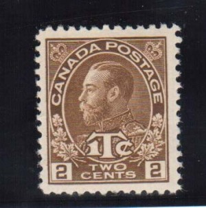 Canada #MR4a VF Mint  **With Certificate**