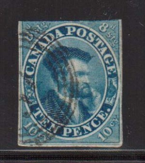 Canada #7a Used  **With Certificate**