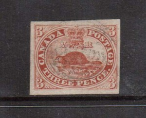 Canada #4c XF Used gem **With Certificate**