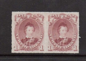 Newfoundland #37 XF Mint Pair  **With Certificate**