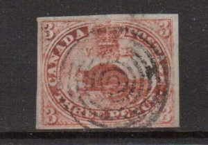 Canada #1 VF Used **With Certificate**
