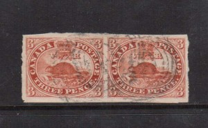 Canada #4 XF Used Showpiece Pair  **With Certificate**