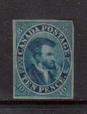 Canada #7 Mint **With Certificate**