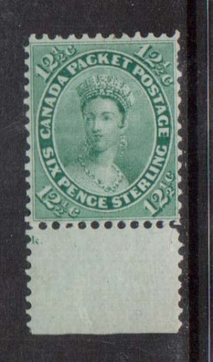 Canada #18iv XF Mint **With Certificate**
