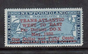 Newfoundland #C12 VF+/NH **With Certificate**