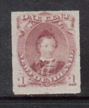 Newfoundland #37 VF/NH **With Certificate**