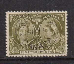 Canada #65 VF+ Used With Ideal CDS Cancel  **With Certificate**