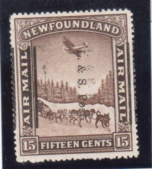 Newfoundland #211 XF Mint Double Overprint Error Variety  **With Certificate**