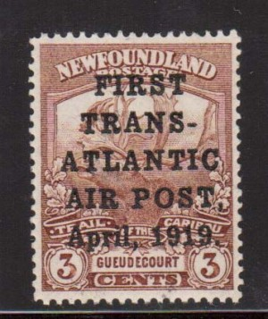Newfoundland #C1 XF/NH World Rarity **With Certificate**
