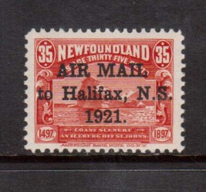 Newfoundland #C3h VF/NH **With Certificate**