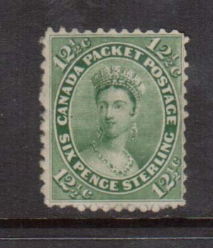 Canada #18a VF Mint **With Certificate**