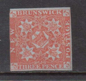 New Brunswick #1 Mint **With Certificate**