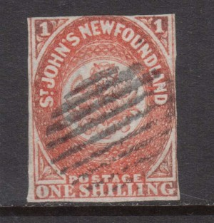 Newfoundland #15 Used Rare Stamp **With Certificate**