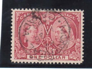 Canada #61 XF Used Gem With Montreal 1898 CDS Cancel **With Cert.*