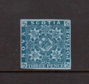 Nova Scotia #2 VF Mint
