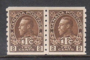 Canada #MR7 XF/NH Coil Pair **With Certificate**
