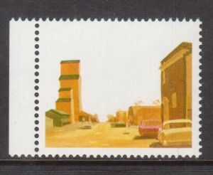 Canada #723ab XF/NH Ghost Town Variety **With Certificate**