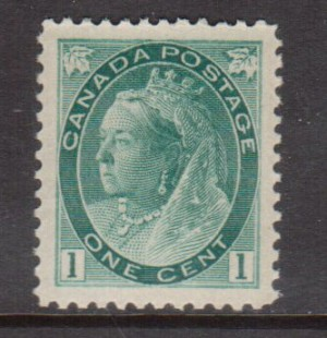 Canada #75 XF/NH Gem **With Certificate**