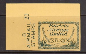 Canada #CL43Piv XF/NH Imperforate Proof On Yellow Stamp Paper **With Cert.**