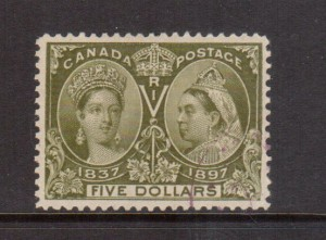 Canada #65 XF Used **With Certificate**