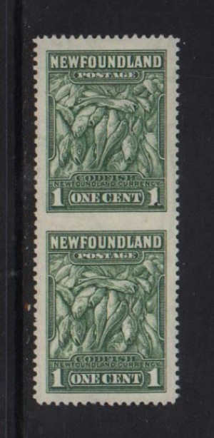 Newfoundland #183c XF Mint Imperf Between Pair  *With Cert.*