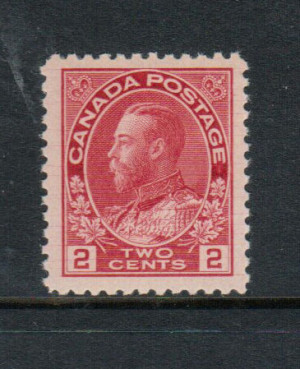 Canada #106ix XF/NH **With Certificate**