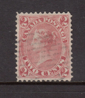 Canada #20 Used Truly Superb **With Certificate**