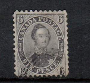 Canada #13 Used Fine With Light Cancel **With Certificate**
