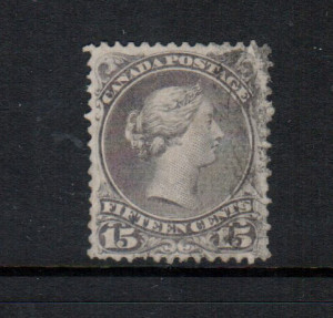 Canada #29c VF Used **With Certificate**