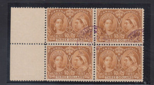 Canada #63 VF Used Block With Ideal Winnipeg CDS Postmark Cancel