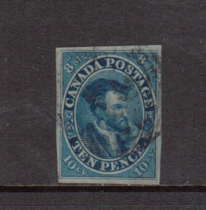 Canada #7 Used **With Certificate**