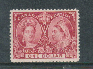 Canada #61 XF/NH Gem **With Certificate**