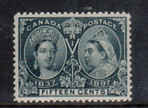 Canada #58 XF/NH **With Certificate**