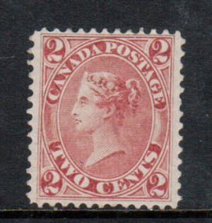 Canada #20a,iii XF Mint **With Certificate**