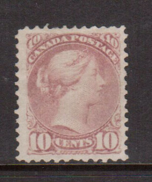 Canada #40c VF Mint **With Certificate**